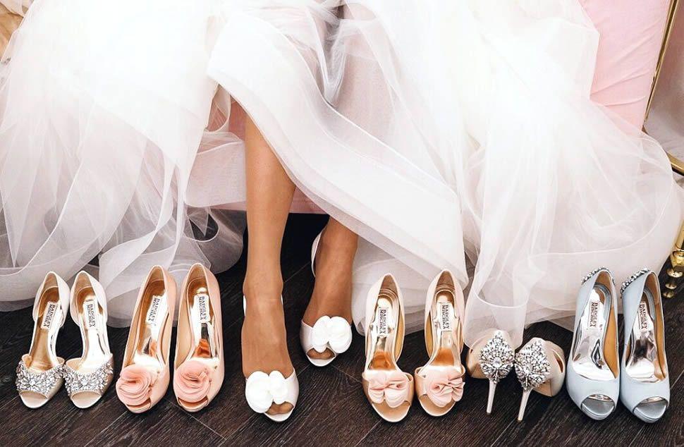 299f89c7b Как подобрать туфли к свадебному платью?